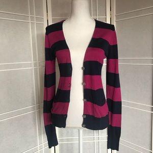 Caslon Striped Cardigan (Like New!)
